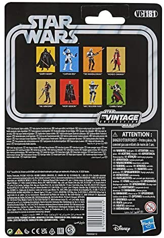 512GEg2rsML. AC  - STAR WARS The Vintage Collection The Mandalorian Toy, 3.75-Inch-Scale The Mandalorian Action Figure, Toys for Kids Ages 4 and Up