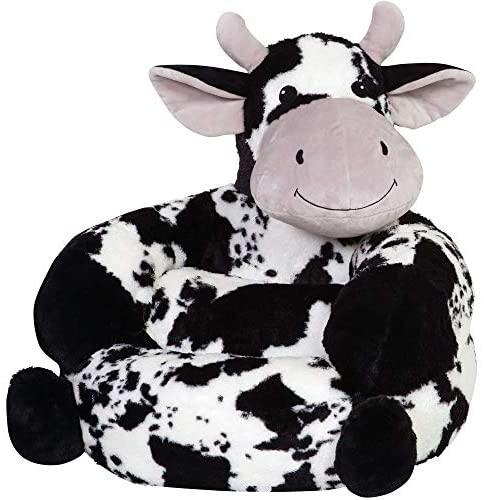 513d DnnhyL. AC  - Trend Lab Children's Plush Cow Character Chair for Kids and Toddlers