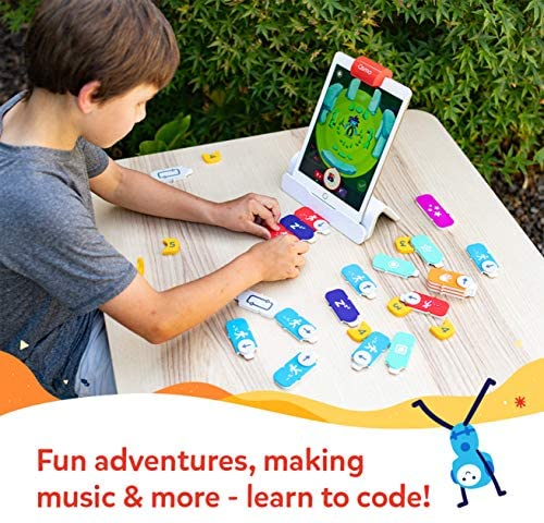 513s6qEpY1L. AC  - Osmo - Coding Starter Kit for iPad - 3 Educational Learning Games - Ages 5-10+ - Learn to Code, Coding Basics & Coding Puzzles - STEM Toy (Osmo iPad Base Included)