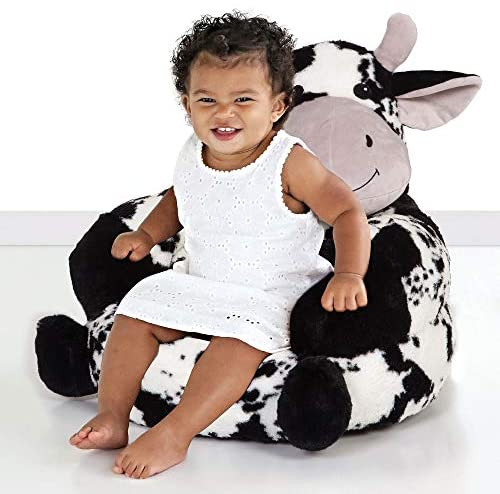 515OjcZ64XL. AC  - Trend Lab Children's Plush Cow Character Chair for Kids and Toddlers