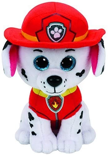 516RhFn7DzL. AC  - Ty Paw Patrol Beanie Babies - Set of 6! Marshall, Chase, Skye, Rocky, Rubble and Zuma!