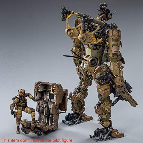 516jbhI9s6L. AC  - JOYTOY 1/18 Action Figures 09th Legion-Fear(Assault) Armor Anime Figure Collection Model Dark Source Toys (Brown)