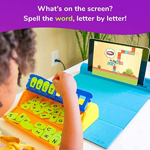 51A7lIj7irL. AC  - Plugo Letters by PlayShifu - Word Building with Phonics, Stories, Puzzles   5-10 Years Educational STEM Toy   Interactive Vocabulary Games   Boys & Girls Gift (App Based)