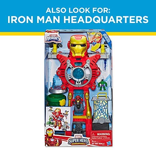 51CVlR1 BcL. AC  - Playskool Heroes Marvel Super Hero Adventures Ultimate Super Hero Set, 10 Collectible 2.5-Inch Action Figures, Toys for Kids Ages 3 and Up (Amazon Exclusive)