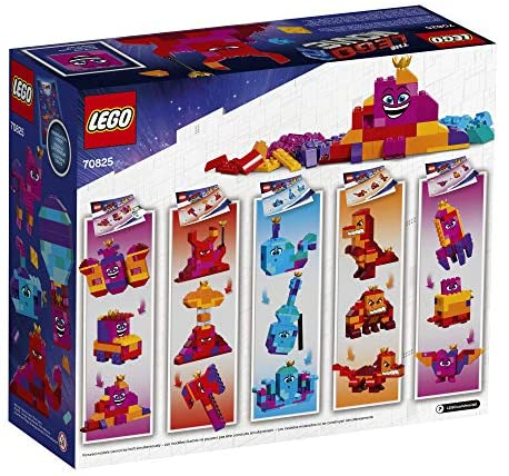 51CtI3bFmdL. AC  - LEGO The Movie 2 Queen Watevra's Build Whatever Box! 70825 Pretend Play Toy and Creative Building Kit for Girls and Boys (455 Pieces) (Discontinued by Manufacturer)