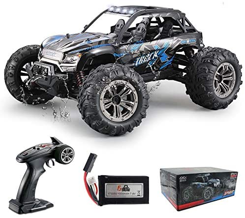 51D bplGM+L. AC  - Fistone RC Truck 1/16 High Speed Racing Car , 24MPH 4WD Off-Road Waterproof Vehicle 2.4Ghz Radio Remote Control Monster Truck Dune Buggy Hobby Toys for Kids and Adults