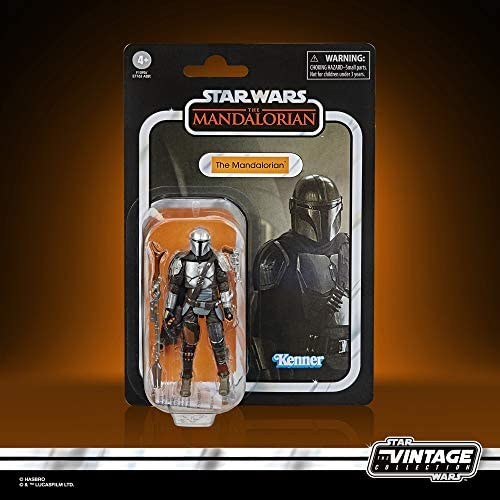 51EEOP2EUyL. AC  - STAR WARS The Vintage Collection The Mandalorian Toy, 3.75-Inch-Scale The Mandalorian Action Figure, Toys for Kids Ages 4 and Up