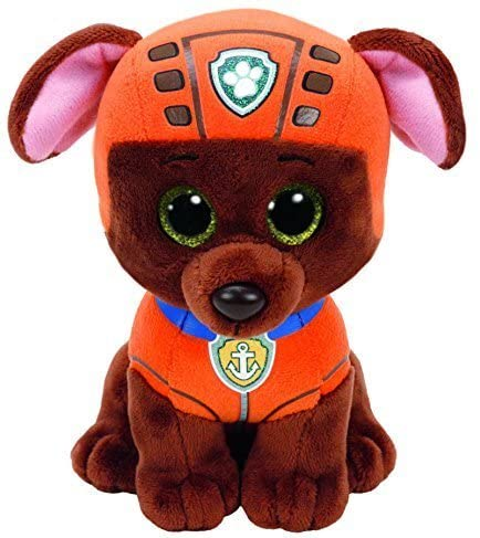 51EGsYIv2zL. AC  - Ty Paw Patrol Beanie Babies - Set of 6! Marshall, Chase, Skye, Rocky, Rubble and Zuma!