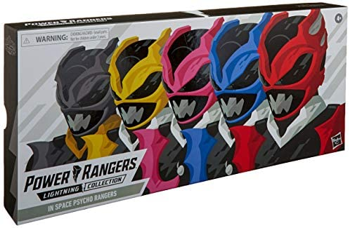 51FZqrs0zNL. AC  - Power Rangers Lightning Collection 6-Inch in Space Psycho Rangers 5-Pack Premium Collectible Action Figure Toys with Accessories (Amazon Exclusive)