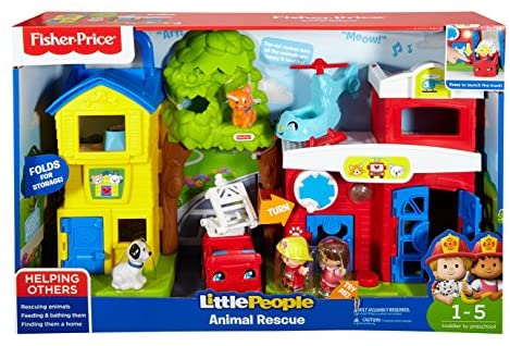 51HB Bz7f9L. AC  - Fisher-Price Little People Animal Rescue