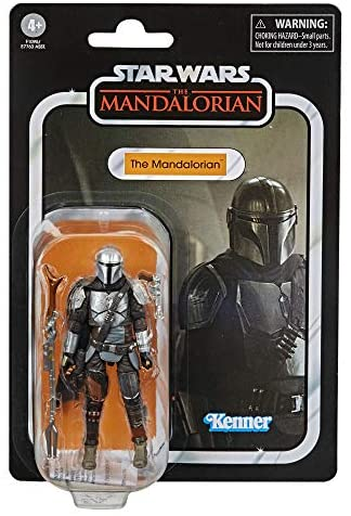 51IEHruZhuL. AC  - STAR WARS The Vintage Collection The Mandalorian Toy, 3.75-Inch-Scale The Mandalorian Action Figure, Toys for Kids Ages 4 and Up