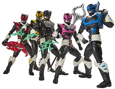 51IOlJNVMML. AC  - Power Rangers Lightning Collection 6-Inch in Space Psycho Rangers 5-Pack Premium Collectible Action Figure Toys with Accessories (Amazon Exclusive)