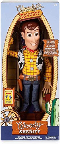 51IhnXBH61L. AC  - Disney Woody Interactive Talking Action Figure - Toy Story 4 - 15 Inches