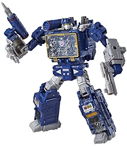 51J ZjFKnWL. AC  - Transformers Toys Generations War for Cybertron Voyager Wfc-S25 Soundwave Action Figure - Siege Chapter - Adults & Kids Ages 8 & Up, 7""