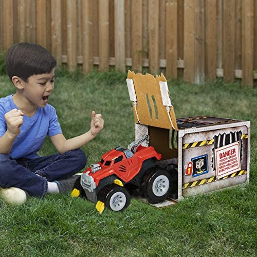 51K1cS9ZWuL. AC  - The Animal, Interactive Unboxing Toy Truck with Retractable Claws and Lights and Sounds, for Kids Aged 4 and up