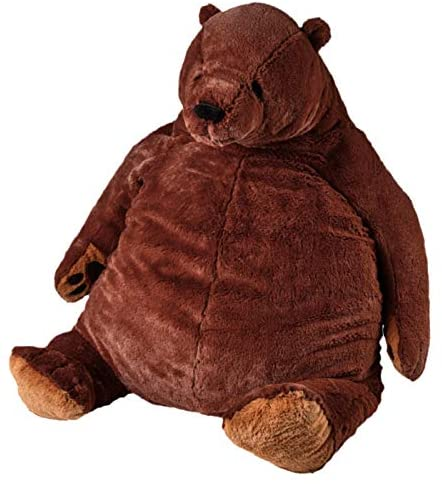 51KwDYEzN+L. AC  - Giant Simulation Bear Toy Plush Toy Pillow Soft Animal Stuffed Plush Doll Home Decor Birthday Gift (100CM/39.4IN)