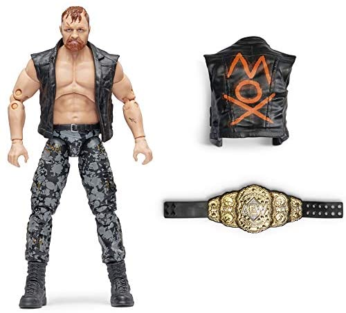 51OUW9lwBrL. AC  - AEW All Elite Wrestling Unrivaled Collection Jon Moxley - 6.5-Inch Action Figure - Series 2