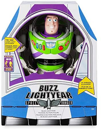 51PtnBCJjKL. AC  - Disney Buzz Lightyear Interactive Talking Action Figure - 12 Inches