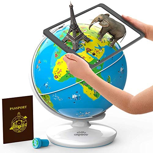 51Q9l426pOL. AC  - Shifu Orboot (App Based): Augmented Reality Interactive Globe For Kids, Stem Toy For Boys & Girls Ages 4+ Educational Toy Gift (No Borders, No Names On Globe)