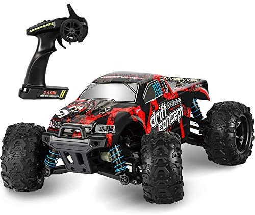 51Sd8W9PD L. AC  - Remote Control Car,1:18 Scale RC Racing High Speed Car,4WD All Terrains Waterproof Drift Off-Road Vehicle,2.4GHz RC Road Monster Truck Included 2 Rechargeable Batteries,Toy for Boys Teens Adults