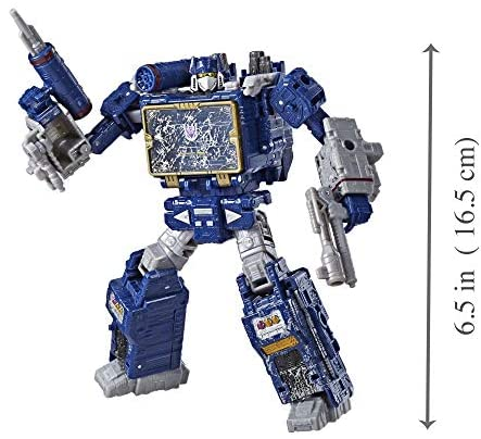 51TtYyjo +L. AC  - Transformers Toys Generations War for Cybertron Voyager Wfc-S25 Soundwave Action Figure - Siege Chapter - Adults & Kids Ages 8 & Up, 7""