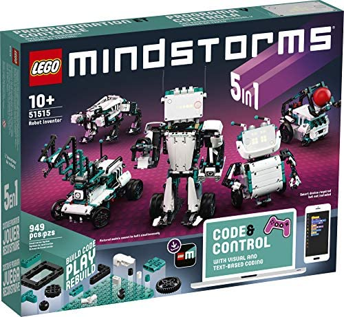 51VLj4PY5FL. AC  - LEGO MINDSTORMS Robot Inventor Building Set 51515; STEM Model Robot Toy for Creative Kids with Remote Control Model Robots; Inspiring Code and Control Edutainment Fun, New 2020 (949 Pieces)