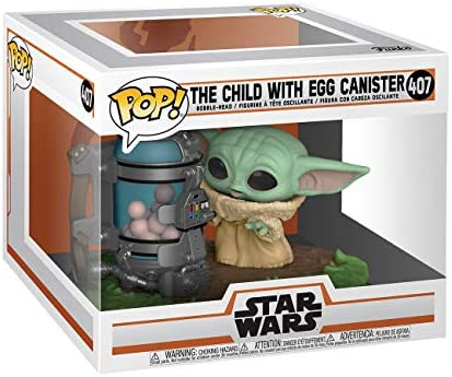 51W+FnQTxeL. AC  - Funko Pop! Deluxe Star Wars: The Mandalorian - The Child with Canister