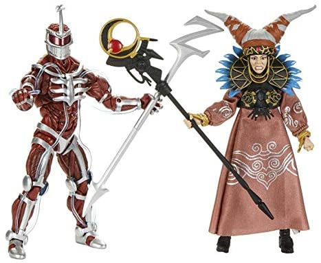 51Xg6tCRVSL. AC  - PR Power Rangers Lord Zedd and Rita Repulsa Lightning Collection Action Figure 2 Pack