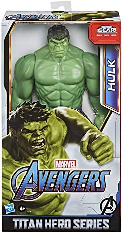 51YBjTk M+L. AC  - Avengers Marvel Titan Hero Series Blast Gear Deluxe Hulk Action Figure, 12-Inch Toy, Inspired by Marvel Comics, for Kids Ages 4 and Up