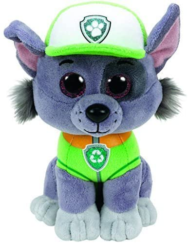 51bpj5yqlSL. AC  - Ty Paw Patrol Beanie Babies - Set of 6! Marshall, Chase, Skye, Rocky, Rubble and Zuma!