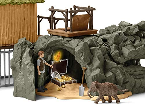 51dPLnzI03L. AC  - Schleich Wild Life Crocodile Jungle Research Station with Jungle Animals 69-piece Playset for Kids Ages 3-8