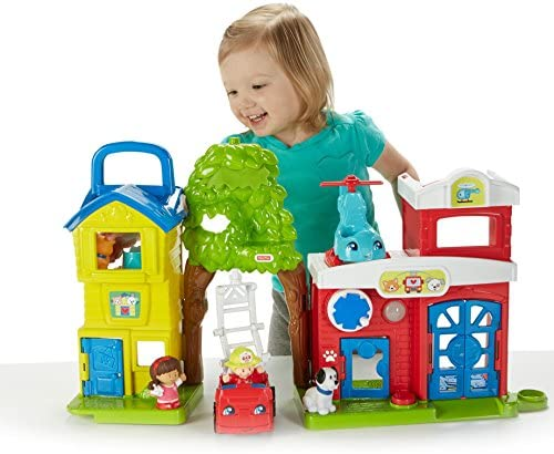 51g1l8tmpqL. AC  - Fisher-Price Little People Animal Rescue
