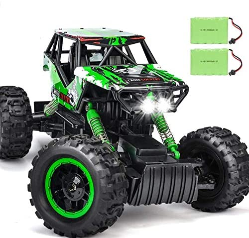 51jY0rS5sIL. AC  - DOUBLE E RC Car 1:12 Remote Control Car Monster Trucks with Head Lights 4WD Off All Terrain RC Car Rechargeable Vehicles
