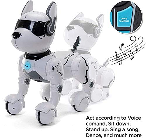 51jm4CfnGPL. AC  - Remote Control Robot Dog Toy, Robots for Kids, Rc Dog Robot Toys for Kids 3,4,5,6,7,8,9,10 Year Old and up, Smart & Dancing Robot Toy, Imitates Animals Mini Pet Dog Robot…