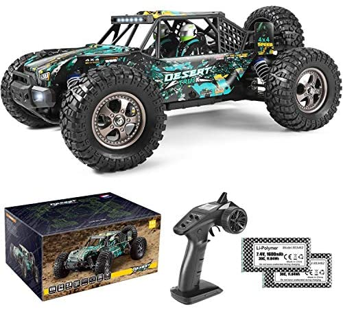 51lmSBam5OL. AC  - Remote Control Car 1:12 Scale High Speed RC Cars 42KM/H 4X4 Off-Road Trucks 2995, All Terrain Electric Powered RC Vehicle RTR Hobby Grade 40+ Min Play, Remote Control Toy Trucks for Boys and Adults