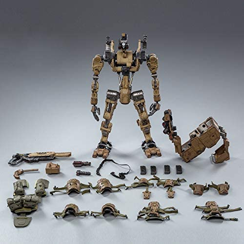 51nlmI58UXL. AC  - JOYTOY 1/18 Action Figures 09th Legion-Fear(Assault) Armor Anime Figure Collection Model Dark Source Toys (Brown)