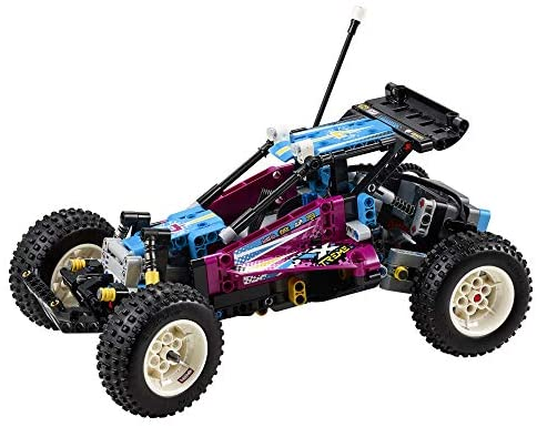 51nnwJPN89L. AC  - LEGO Technic Off-Road Buggy 42124 Model Building Kit; App-Controlled Retro RC Buggy Toy for Kids, New 2021 (374 Pieces)