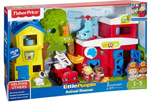 51o8Bnb4aNL. AC  - Fisher-Price Little People Animal Rescue