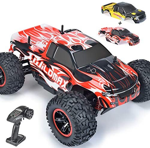 51pVLwUpP2L. AC  - NQD All Terrain Waterproof High Speed Remote Control Monster Truck, 1:10 Off Road RC Truck, 4WD 2.4Ghz RC Cars for Kids & Adults Gifts