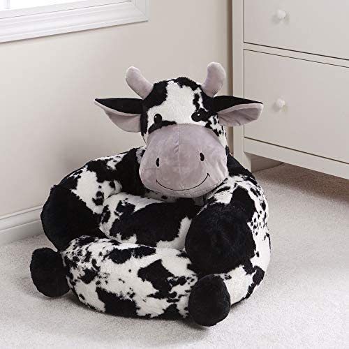 51uI5ZOvdIL. AC  - Trend Lab Children's Plush Cow Character Chair for Kids and Toddlers