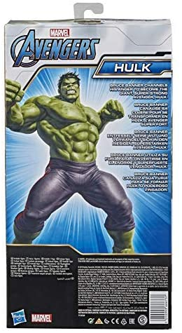 51uUZkgX3HL. AC  - Avengers Marvel Titan Hero Series Blast Gear Deluxe Hulk Action Figure, 12-Inch Toy, Inspired by Marvel Comics, for Kids Ages 4 and Up