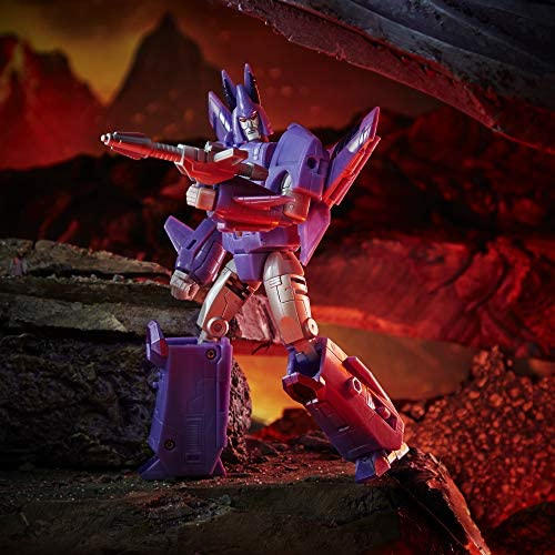51wJEw6ESHL. AC  - Transformers Toys Generations War for Cybertron: Kingdom Voyager WFC-K9 Cyclonus Action Figure - Kids Ages 8 and Up, 7-inch