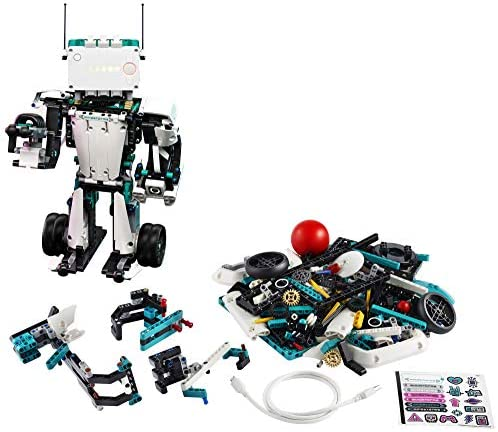 51xUZf3nKML. AC  - LEGO MINDSTORMS Robot Inventor Building Set 51515; STEM Model Robot Toy for Creative Kids with Remote Control Model Robots; Inspiring Code and Control Edutainment Fun, New 2020 (949 Pieces)