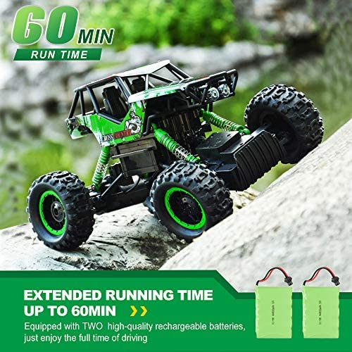 51zrqVg8g6L. AC  - DOUBLE E RC Car 1:12 Remote Control Car Monster Trucks with Head Lights 4WD Off All Terrain RC Car Rechargeable Vehicles