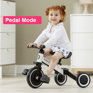 56441b8b 131b 4c64 856a ec1ae2640773.  CR0,0,300,300 PT0 SX300 V1    - XJD 3 in 1 Kids Tricycles for 10 Month-3 Years Old Kids Trike 3 Wheel Toddler Bike Boys Girls Trikes for Toddler Tricycles Baby Bike Trike Upgrade 2.0