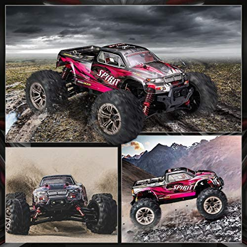 61+POihS3gL. AC  - Hobby RC Cars,FLYHAL 9135 Pro Remote Control Car RC Cars for Adults 30+MPH 45km/h 4WD Professional IPX4 Waterproof 1:16 Scale Super Fast RC Cars Moster RC Trucks 4x4 Off Road 2 Batteries