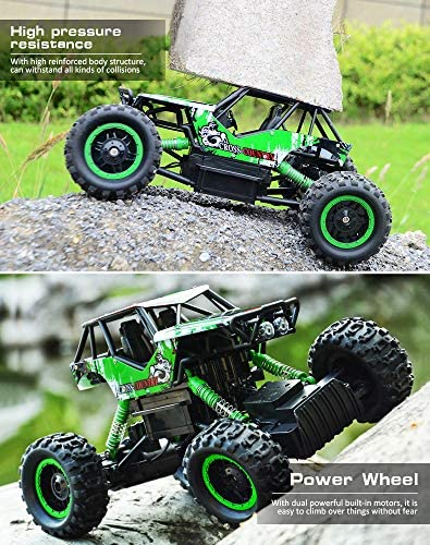 618l6xfBREL. AC  - DOUBLE E RC Car 1:12 Remote Control Car Monster Trucks with Head Lights 4WD Off All Terrain RC Car Rechargeable Vehicles
