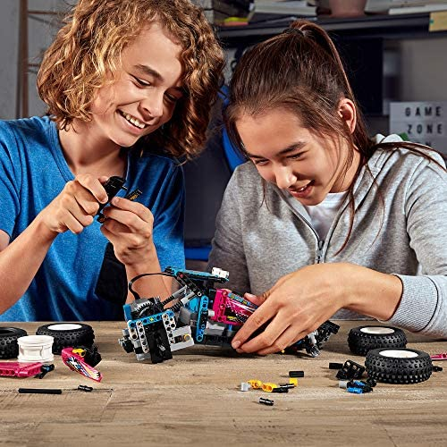 61A3QwNJ2KL. AC  - LEGO Technic Off-Road Buggy 42124 Model Building Kit; App-Controlled Retro RC Buggy Toy for Kids, New 2021 (374 Pieces)