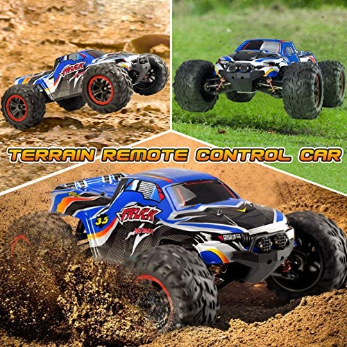 61QMcxJbryL. AC  - INGQU 1:10 Scale High Speed 60km/h 4WD Off-Road RC Car 2.4Ghz Brushless Remote Control Monster Truck