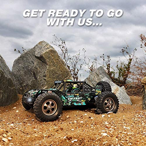 61bE4DYmg4L. AC  - Remote Control Car 1:12 Scale High Speed RC Cars 42KM/H 4X4 Off-Road Trucks 2995, All Terrain Electric Powered RC Vehicle RTR Hobby Grade 40+ Min Play, Remote Control Toy Trucks for Boys and Adults